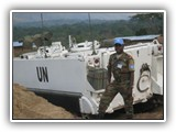 1LT ALI OROU at one on the Benin Battalion / MONUSCO operational bases in September 2011.