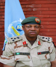 Photo of Gen Boroh in uniform.